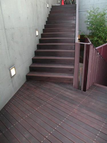 タイル階段をリフォーム