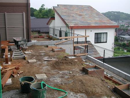 施工前の基礎作り